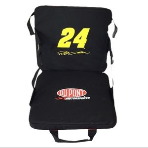 NEW Jeff Gordon #24 Folding Stadium Seat NWT